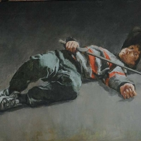 guerriero-caduto-1983-cm-60x90
